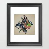 Bull Run Framed Art Print