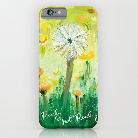 Real or Not Real-Hunger Game Dandelion iPhone & iPod Case