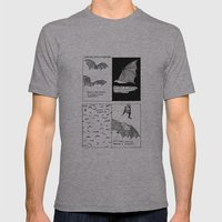 Bats In Your Hair Mens Fitted Tee Athletic Grey SMALL
