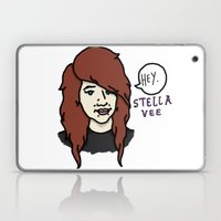 Hey Stella Vee (Logo) Laptop & iPad Skin