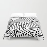 Abstraction Lines Close … Duvet Cover