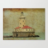 Old And Wise Light Canvas Print