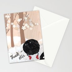 Mr. Furry Pants Stationery Cards