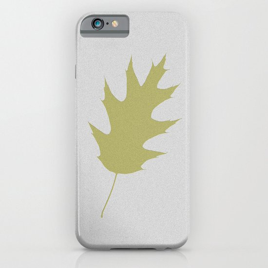 Feuille d'arbre de chêne iPhone & iPod Case