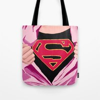 Girl, You're Super Tote Bag
