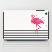 Live Free Flamingo  iPad Case