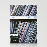 Vinyl Baby Stationery Cards