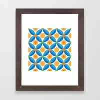 Citrus: Orange Grove Framed Art Print