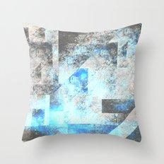 Blue Topaz NebulÆ Throw Pillow