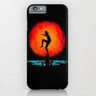 iPhone & iPod Case featuring Minimalist Karate Kid Tr… by Barrett Biggers