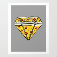 Pizzas Are Forever Art Print