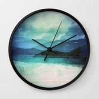 Tropical Island Multiple… Wall Clock