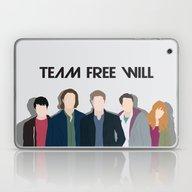 The New Team Free Will Laptop & iPad Skin