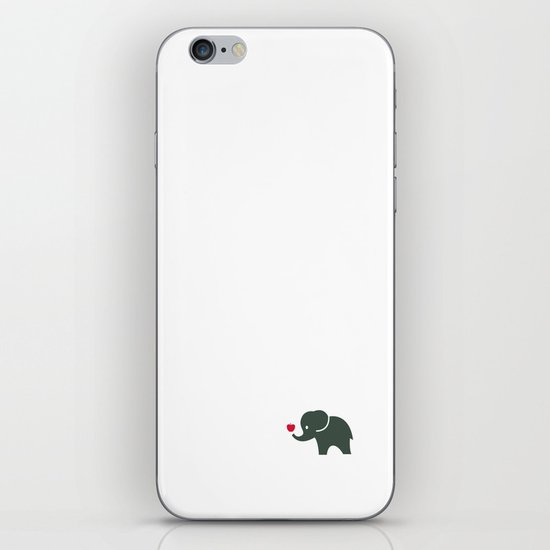Elliefant iPhone & iPod Skin