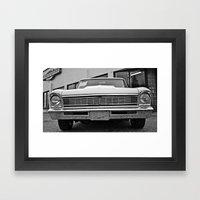 Chevy II Closeup Framed Art Print