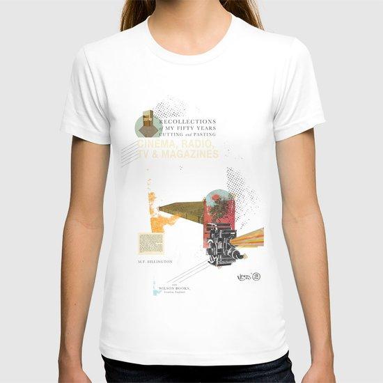 Cinema, Radio, TV and Magazines T-shirt