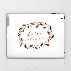 Hello October! Laptop & iPad Skin