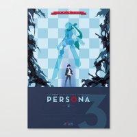 Persona 3 Canvas Print