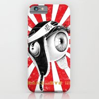 iPhone & iPod Case featuring banz_eye !!! by mauro mondin