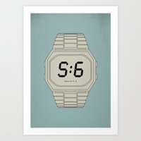 S6 Tee Time Art Print