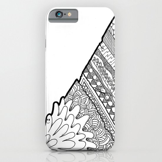 Triangle Doodle iPhone & iPod Case