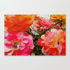 Overblown Canvas Print