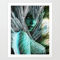 Winter She Comes... Art Print