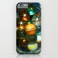 iPhone & iPod Case featuring Marbles in Glass by Julie