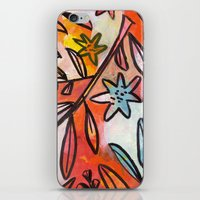 Painted Jungle 2 iPhone & iPod Skin