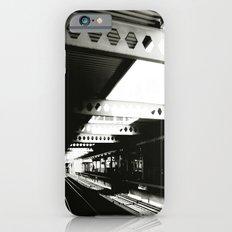 blue line iPhone 6 Slim Case