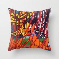LICHTENSTEIN/ PLUTO Throw Pillow