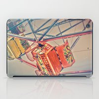 1930's Ferris Wheel iPad Case