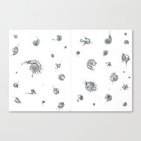 Motes Canvas Print