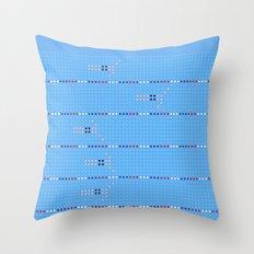 Olympic - Swim 2 Throw Pillow