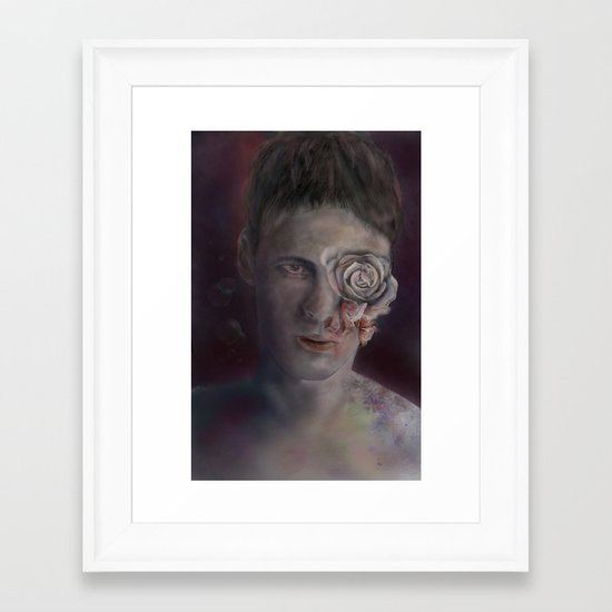 Chrysanthemum Dreams Framed Art Print