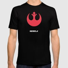 Rebel Alliance Mens Fitted Tee Black SMALL