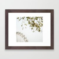 the wheel2 Framed Art Print