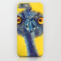 iPhone & iPod Case featuring emu by Ruca