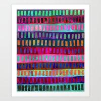 PATTERN {Geometric 001} Art Print