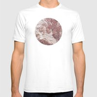 Planetary Bodies - Red R… Mens Fitted Tee White SMALL
