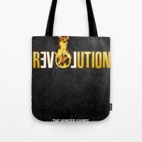 Hunger Games - Revolution Tote Bag