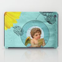Angel Playing Music In S… iPad Case