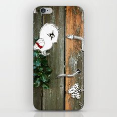 Theo and the Worm iPhone & iPod Skin