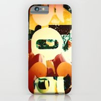 iPhone & iPod Case featuring Numbers by Nelka