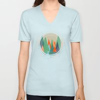 Abstract/G. Unisex V-Neck