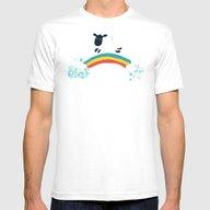 T-shirt featuring One Happy Cloud by Budi Kwan