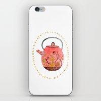 Teapot Terrarium iPhone & iPod Skin