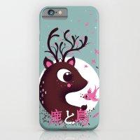 la biche et l'oiseau iPhone 6 Slim Case