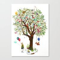 Algarrobo Tree Canvas Print