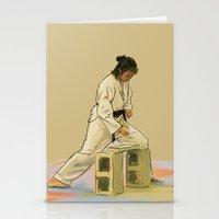Preparing To Break A Bri… Stationery Cards